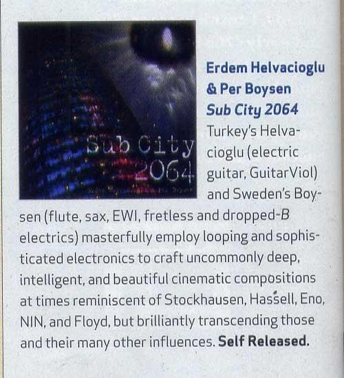 Guitar Player Magazine September 2010
