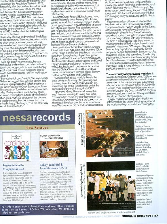 SIGNAL TO NOISE Magazine Issue Summer 2009